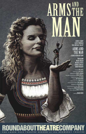 Arms and the Man - Broadway Poster Masterprint