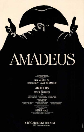 Amadeus - Broadway Poster , 1980 Masterprint