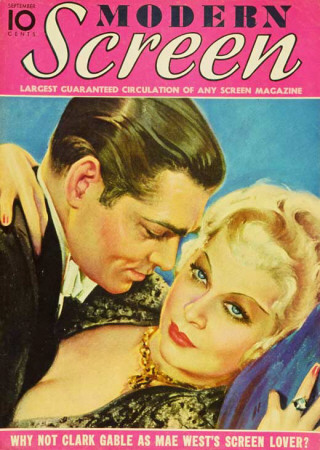 Mae West - Modern Screen Magazine Cover 1930's Masterprint