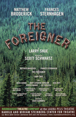 The Foreigner - Broadway Poster Masterprint
