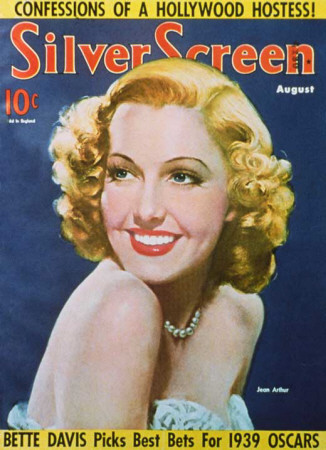 Jean Arthur - Silver Screen Magazine Cover 1930's Masterprint