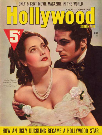 Merle Oberon - Hollywood Magazine Cover 1930's Masterprint