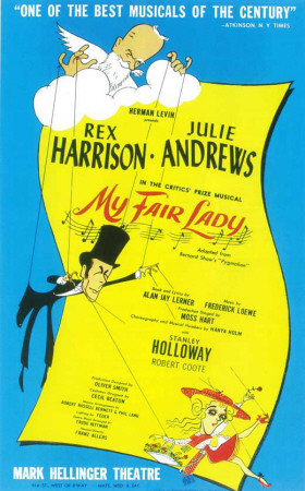 My Fair Lady - Broadway Poster , 1956 Photo