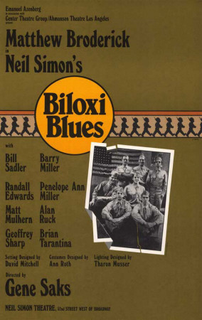 Biloxi Blues - Broadway Poster , 1985 Masterprint
