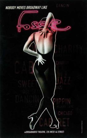 Fosse - Broadway Poster , 1999 Masterprint