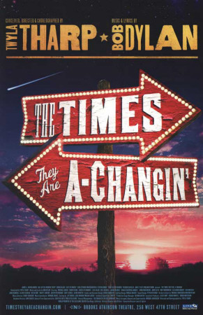 The Times They Are A Changin' - Broadway Poster Masterprint
