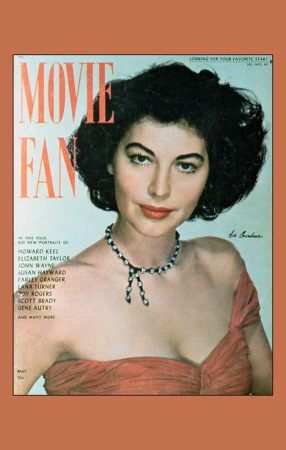 Gardner, Ava - Movie Fan Magazine Cover 1940's Masterprint