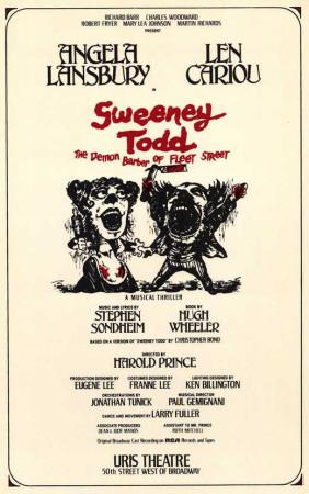 Sweeney Todd - Broadway Poster , 1979 Masterprint