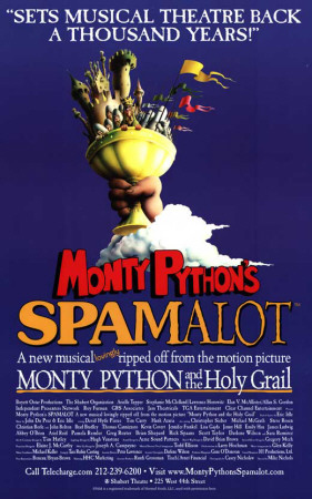 Spamalot - Broadway Poster Masterprint