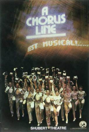 A Chorus Line - Broadway Poster , 1975 Masterprint