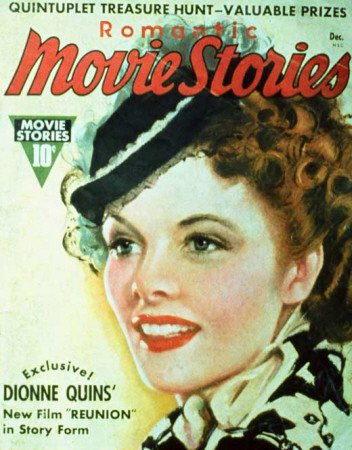 Hepburn, Katharine - Romantic Movie Stories Magazine Cover 1930's Masterdruck
