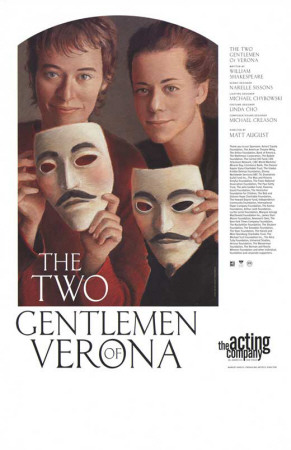 The Two Gentlemen of Verona - Broadway Poster Masterprint