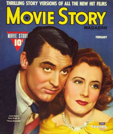 Irene Dunne - Movie Story Magazine Cover 1940's Masterprint