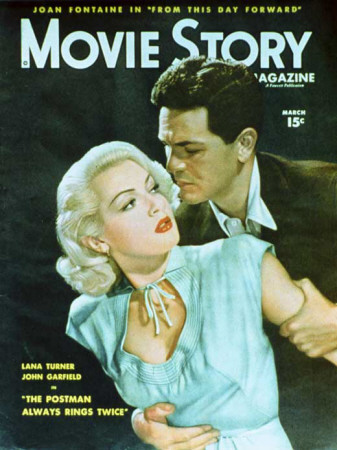 Lana Turner - Movie Story Magazine Cover 1940's Masterprint