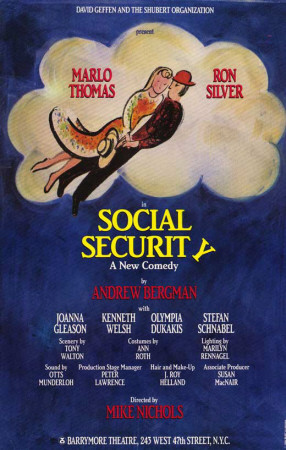 Social Security - Broadway Poster , 1986 Masterprint