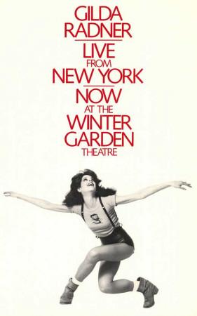Gilda Radner - Live From New York - Broadway Poster , 1979 Masterprint