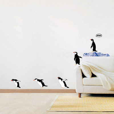 Penguin Group Dive Vinilos decorativos