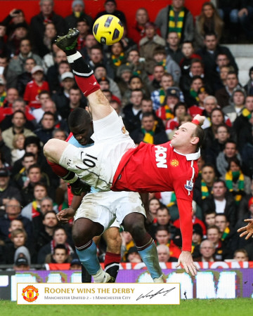 Manchester United - Rooney Goal Photo