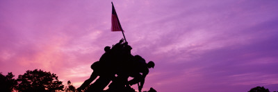 Iwo Jima Memorial, Arlington, Virginia, USA Wall Decal by  Panoramic Images