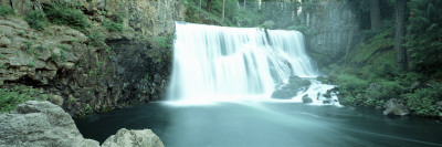 Waterfall, Siskiyou County, California, USA Wall Decal by  Panoramic Images