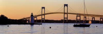 Bridge, Newport, Rhode Island, USA Vinilo decorativo