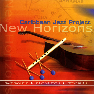 Caribbean Jazz Project - New Horizons Vinilos decorativos