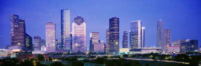 Houston, Texas, USA Wall Decal by  Panoramic Images