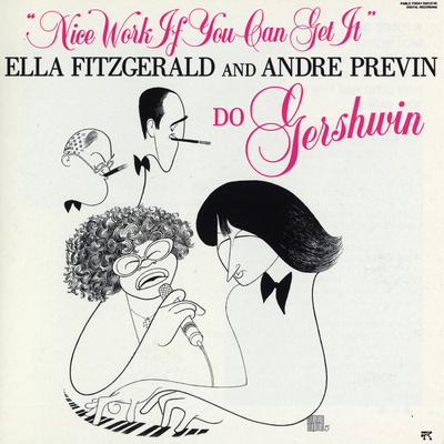 Ella Fitzgerald - Nice Work If You Can Get It Wall Decal