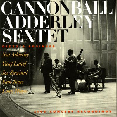 Cannonball Adderley - Dizzy's Business Vinilo decorativo