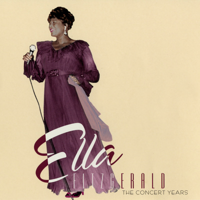 Ella Fitzgerald - The Concert Years Wall Decal