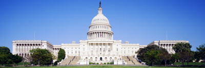 US Capitol, Washington DC, District of Columbia, USA Wall Decal by  Panoramic Images
