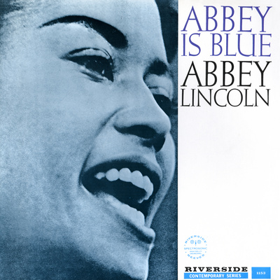 Abbey Lincoln - Abbey is Blue Wall Decal