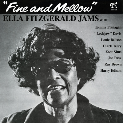 Ella Fitzgerald - Fine and Mellow Wall Decal