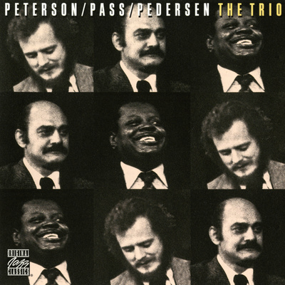 Oscar Peterson, Joe Pass, Niels-Henning Orsted Pedersen - The Trio Wall Decal