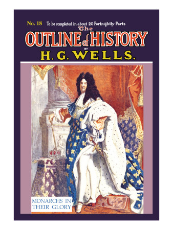Outline of History by H.G. Wells, No. 18: Monarchs in Their Glory Wall Decal