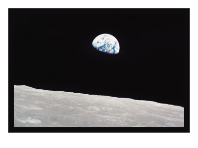 Earth Rise Vinilos decorativos