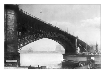 The Eads Bridge Wallstickers af Ido Von Reden