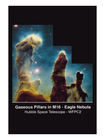 Pillars of Creation Vinilos decorativos