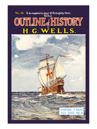 Outline of History by H.G. Wells, No. 16: Empire Takes to the Sea Wall Decal