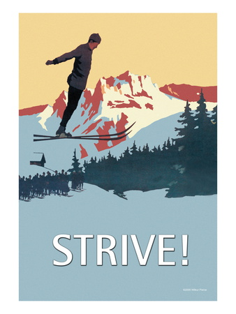 Strive! Wall Decal