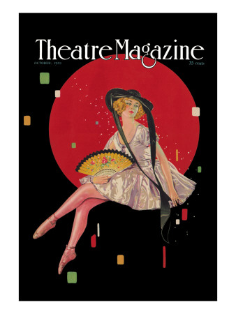 Theatre Magazine Wall Decal