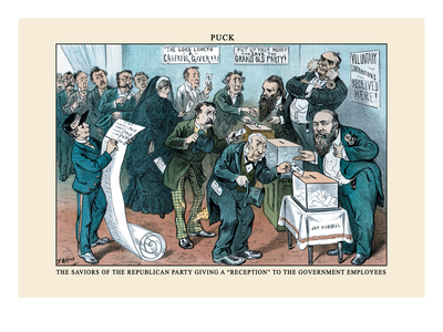 Puck Magazine: The Saviors of the Republican Party Wall Decal by Frederick Burr Opper