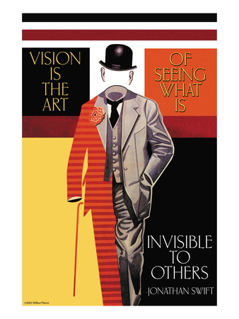 Vision is the Art Wall Decal