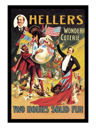Heller's Wonder Coterie Wall Decal by Adolph Friedlander