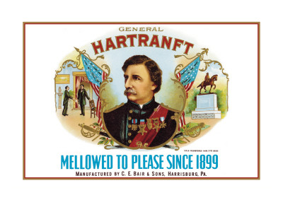 General Hartranft Cigars Wall Decal