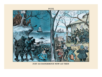 Puck Magazine: Just as Dangerous Now as Then Wall Decal by Frederick Burr Opper