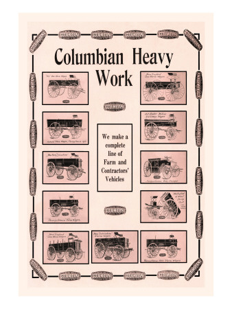 Columbian Heavy Work Wall Decal