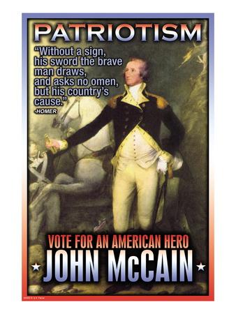McCain, American Hero Wall Decal