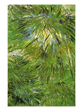 Grass Wall Decal by Vincent van Gogh