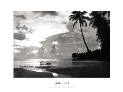 Tahiti, 1938 ウォールステッカー